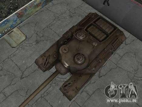 PT-SAU T95 pour GTA San Andreas vue intérieure
