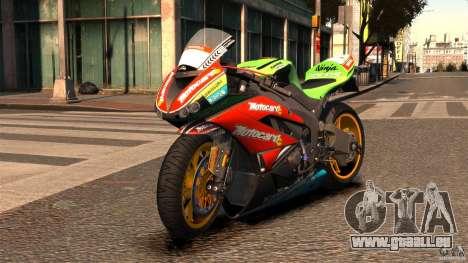 Kawasaki Ninja ZX-6R pour GTA 4