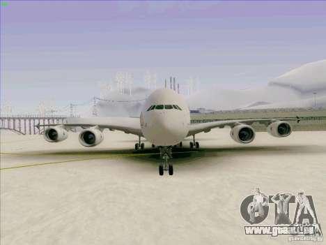 Airbus A380-800 für GTA San Andreas Seitenansicht