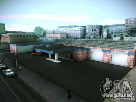 Neue Garage in San Fierro für GTA San Andreas