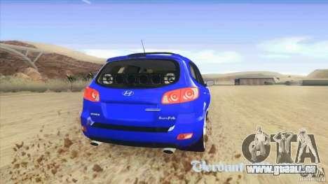 Hyundai Santa Fe 2009 für GTA San Andreas zurück linke Ansicht