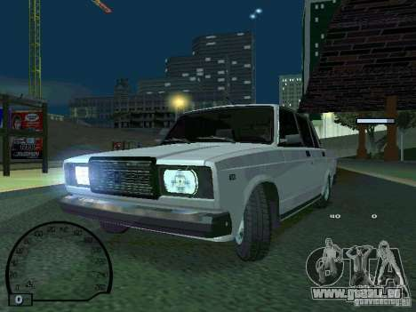 VAZ 2107 pour GTA San Andreas vue arrière