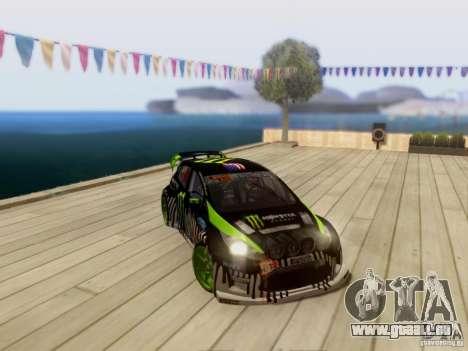 Ford Fiesta Gymkhana 3 pour GTA San Andreas