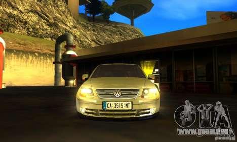 Volkswagen Phaeton 2005 pour GTA San Andreas sur la vue arrière gauche