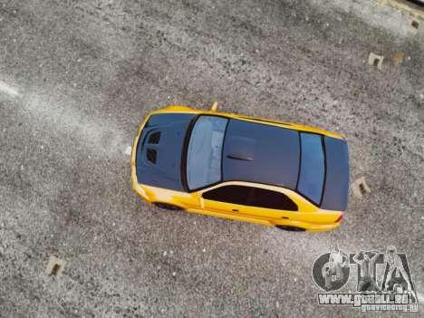 Mitsubishi Lancer Evo VI GSR pour GTA 4 est un droit
