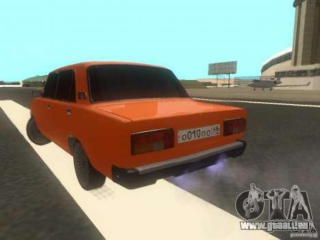 VAZ 2105 pour GTA San Andreas laissé vue