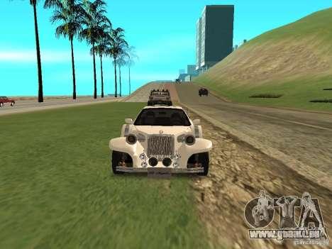 Mitsuoka Le-Seyde pour GTA San Andreas vue intérieure