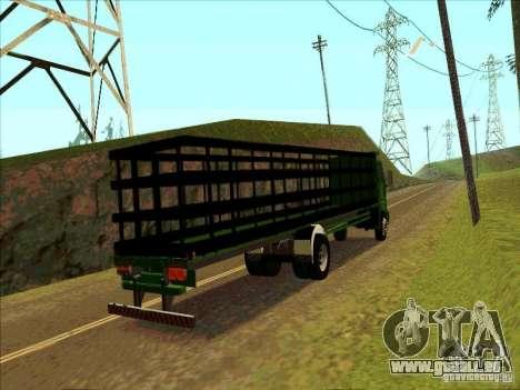 Ford Cargo für GTA San Andreas rechten Ansicht