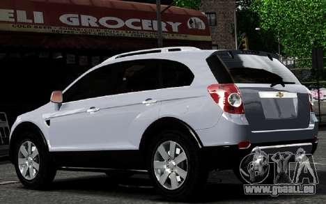 Chevrolet Captiva 2010 pour GTA 4 est un droit