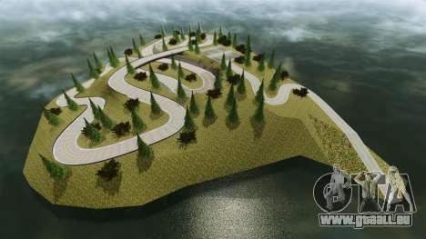 Edem Hill Drift Track für GTA 4