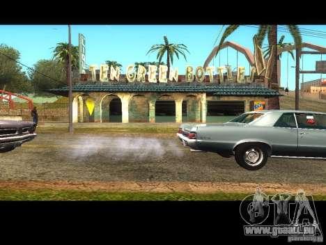 Affaires Cj v1.0 pour GTA San Andreas deuxième écran