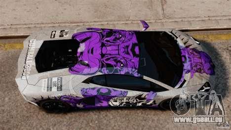 Lamborghini Aventador LP700-4 2012 Galag Gumball für GTA 4 rechte Ansicht