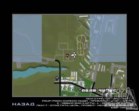 Nouveau champ de rêves pour GTA San Andreas septième écran