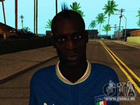 Mario Balotelli v4 pour GTA San Andreas sixième écran