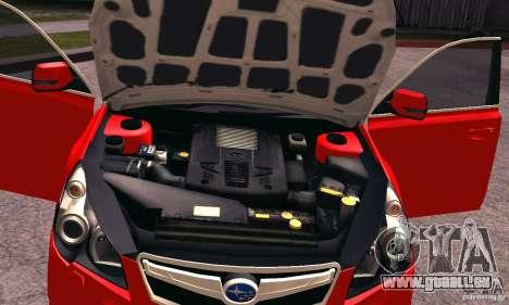 Subaru Legacy B4 2010 für GTA San Andreas Seitenansicht
