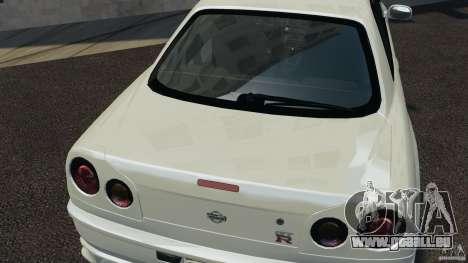 Nissan Skyline GT-R R34 pour GTA 4 est un côté