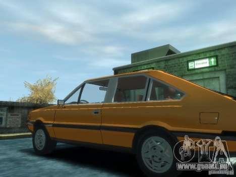 FSO Polonez 2.0X Coupe pour GTA 4 est une gauche