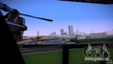 First Person Mod v2 pour GTA San Andreas quatrième écran