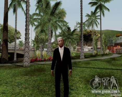 Morgan Freeman für GTA San Andreas dritten Screenshot