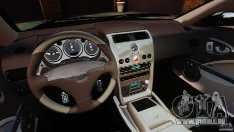 Aston Martin Vanquish 2001 für GTA 4 Rückansicht