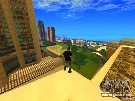 Global Parachute Mod für GTA San Andreas zweiten Screenshot
