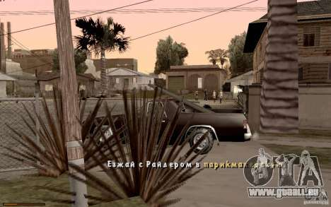 Neue Schriftart für GTA San Andreas achten Screenshot