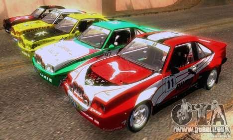 Opel Manta 400 für GTA San Andreas