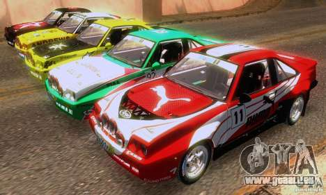 Opel Manta 400 pour GTA San Andreas