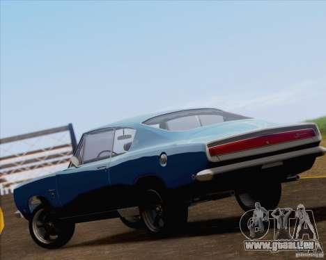 Plymouth Barracuda 1968 pour GTA San Andreas vue de côté