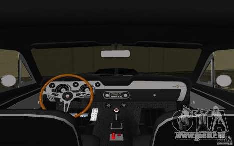 Shelby GT500 Eleanor pour GTA Vice City vue latérale