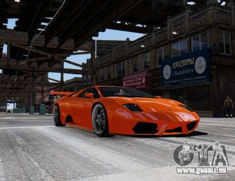 Lamborghini Murcielago RSV FIA GT1 für GTA 4 hinten links Ansicht