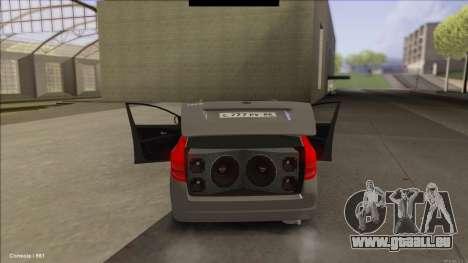 Kia Ceed SW pour GTA San Andreas sur la vue arrière gauche