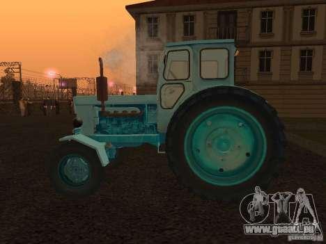 Tracteur T-40 m pour GTA San Andreas laissé vue
