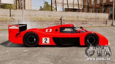 Toyota GT-One TS020 pour GTA 4 est une gauche