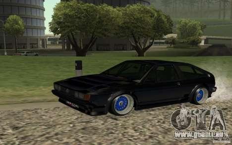 Volkswagen Scirocco für GTA San Andreas zurück linke Ansicht