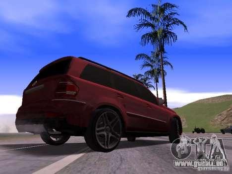Mercedes-Benz GL500 Brabus für GTA San Andreas rechten Ansicht