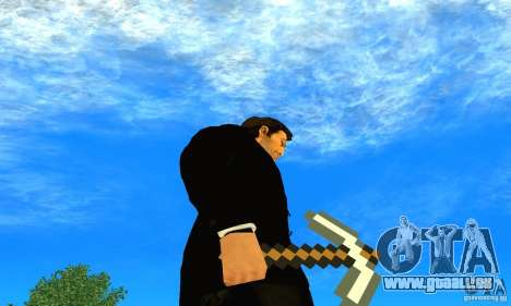 Wählen Sie aus dem Spiel Minecraft für GTA San Andreas dritten Screenshot