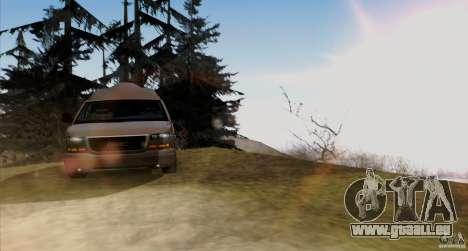 GMC Savana AWD für GTA San Andreas Innenansicht