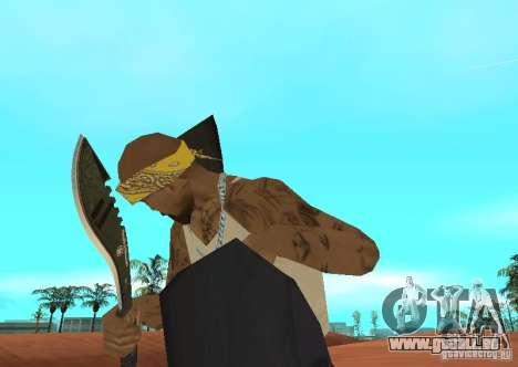 Khukuri pour GTA San Andreas deuxième écran