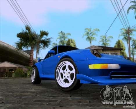 Porsche 911 GT2 RWB Dubai SIG EDTN 1995 pour GTA San Andreas laissé vue