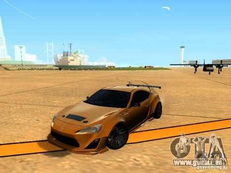 Toyota FT86 Rocket Bunny V2 pour GTA San Andreas vue de côté