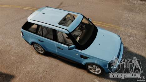 Land Rover Range Rover Sport Supercharged 2010 pour GTA 4 est un droit