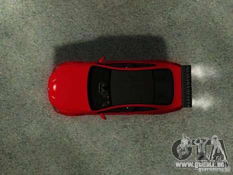 BMW M6 2013 pour GTA San Andreas vue arrière