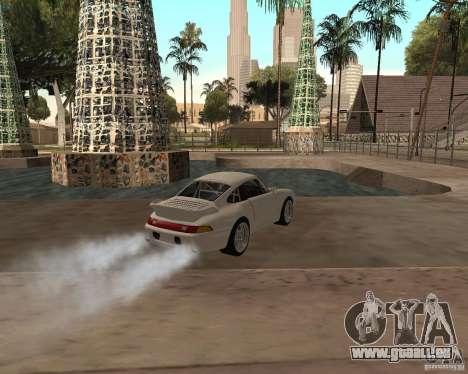 Porsche 911 Turbo 1995 pour GTA San Andreas laissé vue