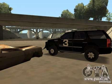 Cadillac Escalade Tallahassee für GTA San Andreas rechten Ansicht