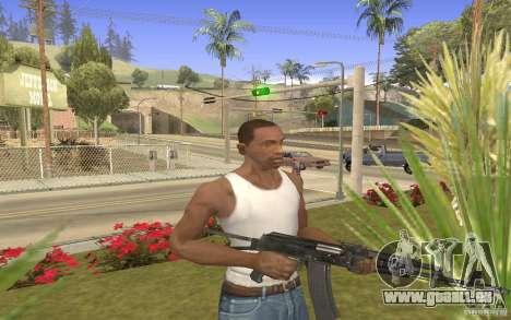 AK 101 für GTA San Andreas dritten Screenshot