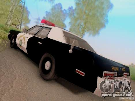 Dodge Monaco 1974 California Highway Patrol für GTA San Andreas linke Ansicht