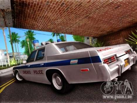 Dodge Monaco 1974 pour GTA San Andreas laissé vue