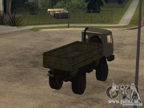 Camion à benne basculante KAZ 4540 pour GTA San Andreas vue de droite