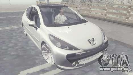 Peugeot 207 RC für GTA San Andreas